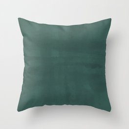 Crosshatch in Teal Throw Pillow
