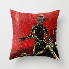 Dead inside  Throw Pillow