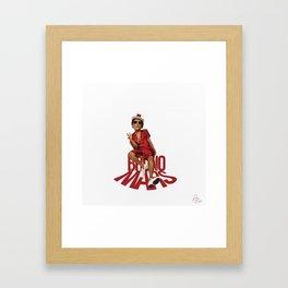 24K MAGIC (brunomars) Framed Art Print