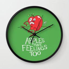 Apple Shot Wall Clock