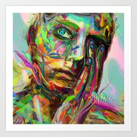 archan nair Art Prints featuring Drift by Archan Nair