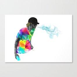 Just Breathe Canvas Print