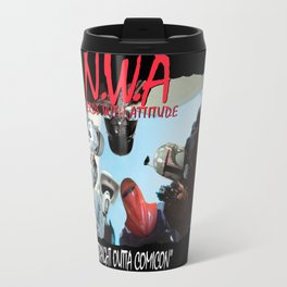 N.W.A (Nerds With Attitude) Straight Outta Comicon Travel Mug