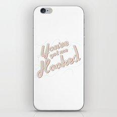 HOOKED iPhone & iPod Skin