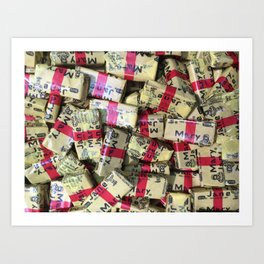 Candies 3 Art Print