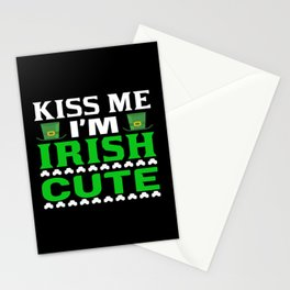 Kiss Me I Am Ireland Stationery Cards