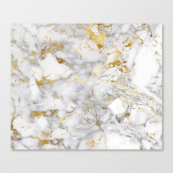 Gold Mine Marble Canvas Print