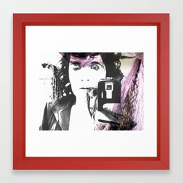 It was me Framed Art Print