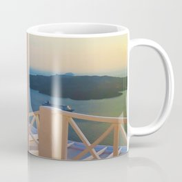 Volcano v Coffee Mug