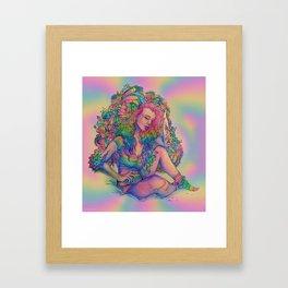 dih-leer-ee-uhs Framed Art Print