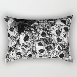 Forms in the nature, in B&w Rectangular Pillow
