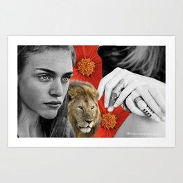 Feminine Power Art Print