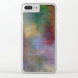 Onions Grids Enhanced Clear iPhone Case