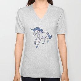 The Unicorn Colored Unisex V-Neck