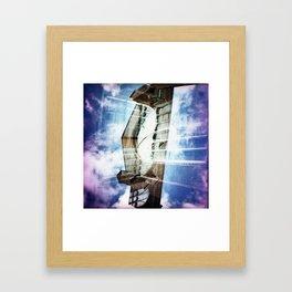 churches Framed Art Print