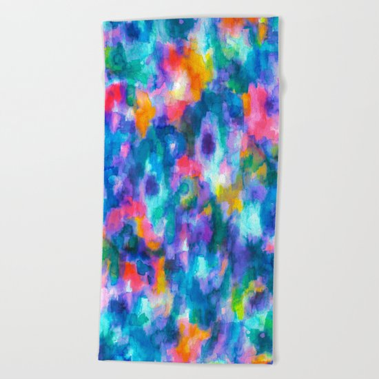 Paradise (Blue) Beach Towel