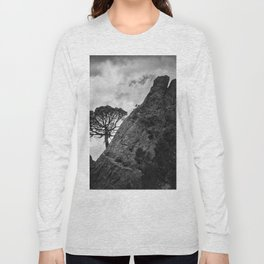 Mountain Tree. At the mountain Long Sleeve T-shirt