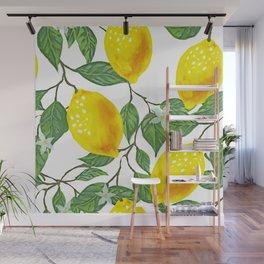 Lime, Lemon or a Twist Wall Mural