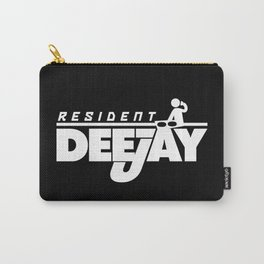 Resident Deejay Music Quote Carry-All Pouch
