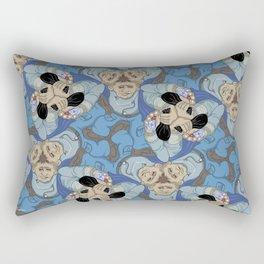 Jewel Thief tessellation Rectangular Pillow