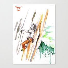 Tenacious Taurus Canvas Print