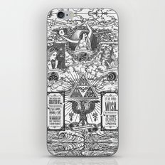 Legend of Zelda - The Three Goddesses of Hyrule Geek Line Artly iPhone & iPod Skin