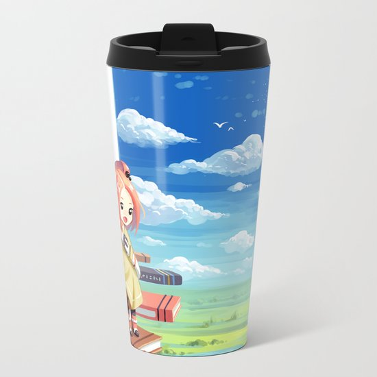 Tower of Wisdom Metal Travel Mug