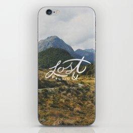 Lost & Found iPhone Skin