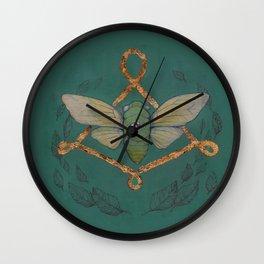 Call Of The Cicada Wall Clock