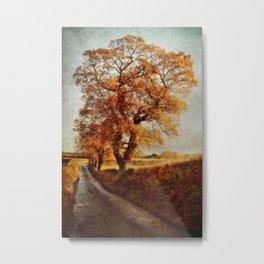 Sweetbriar Trees Metal Print