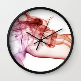 Colorful incense  Wall Clock