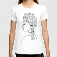 marie antoinette T-shirts featuring Marie Antoinette by Nicholas Darby