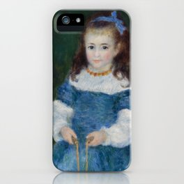 Girl with a Jump Rope (Portrait of Delphine Legrand) iPhone Case