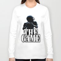 football Long Sleeve T-shirts featuring FOOTBALL  by Robleedesigns