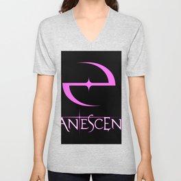 evanescence logo 2020 atin3 Unisex V-Neck