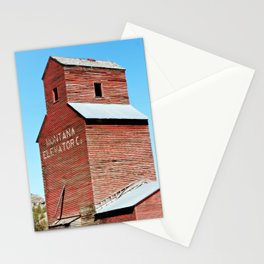 Montana Grain Elevator Stationery Cards