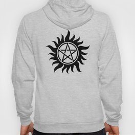 Anti Possession Sigil Black Hoody