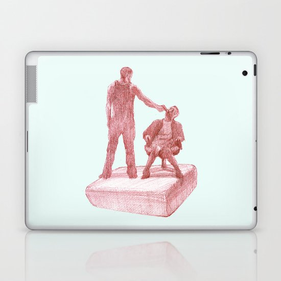fight club  Laptop & iPad Skin