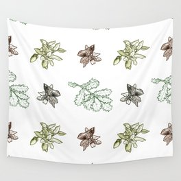 Quercus (greens) Wall Tapestry
