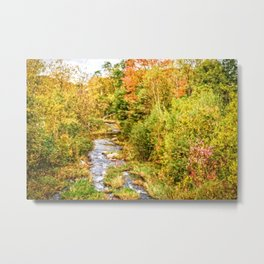 A New Hampshire Autumn Metal Print