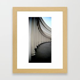 Park Crescent, London Framed Art Print