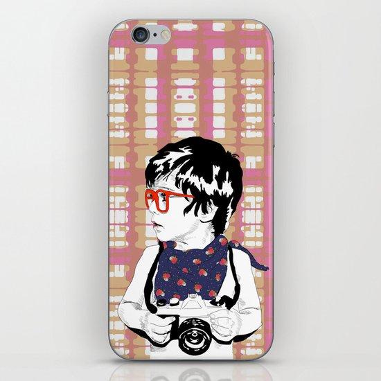 Red Glasses iPhone & iPod Skin
