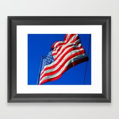 Banner Yet Wave Framed Art Print
