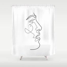 Artlessness II Shower Curtain