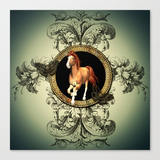 Wonderful horse Canvas Print