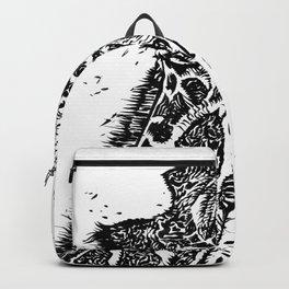 INK GIRAFFE Backpack