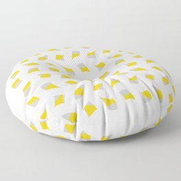 distorted squares Floor Pillow