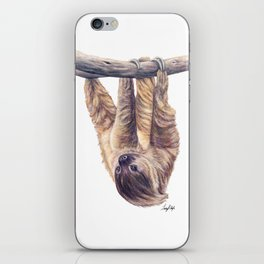 Wookie the Two-Toed Sloth iPhone Skin