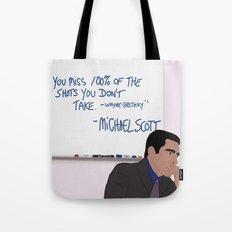 Michael Scott Wisdom Tote Bag