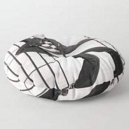 Jailhouse Rock Floor Pillow